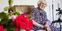 Hedvig Nielsen er Viborg Kommunes ældste borger. I dag fylder hun 105 år og fejrer dette med familie i sit hjem på Overlundgården. Foto: Morten Dueholm